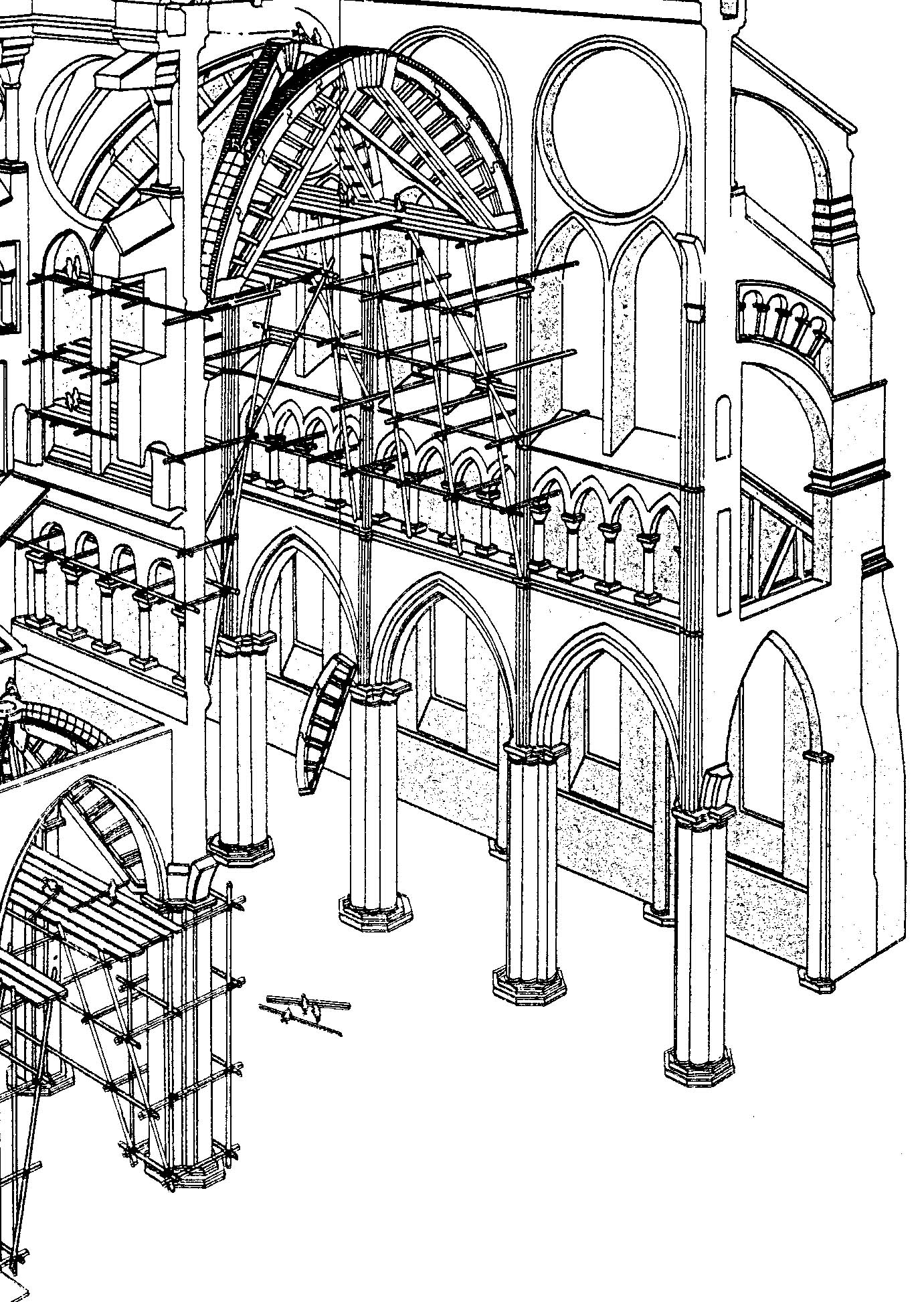 Canterbury Cathedral Floor Plan Cathedrals 1140 1300
